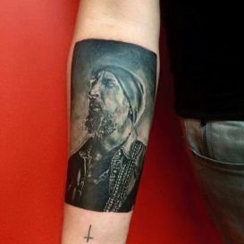 White Trash Tattoo Davy 1